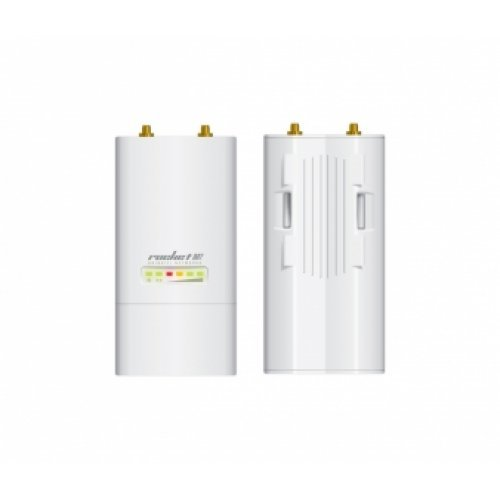 Access Point Ubiquiti 2.4GHz Rocket M2 2x2 MIMO, Outdoor  AirMax безж. точка за достъп, 150+ Mbps, 28 dBm (снимка 1)