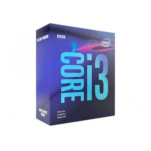 Процесор Intel Coffee Lake Core i3-9100F (3.6GHz, 6MB, LGA1151) NO VGA, box (снимка 1)