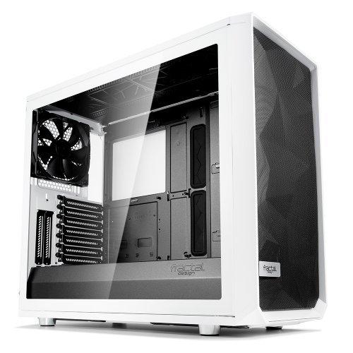 Компютърна кутия Fractal Design MESHIFY S2 WHITE TGL CLEAR (снимка 1)