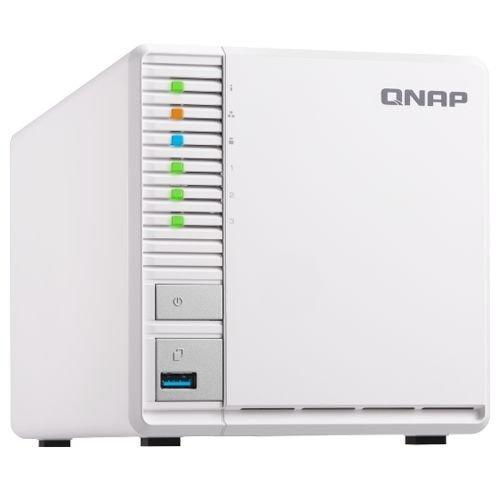 NAS устройство QNAP TS-328 NAS 3X3.5 SATA + 3x HDD 4T SEAGATE ST4000VN008 IRONWOLF NAS (снимка 1)