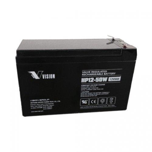 Батерия 12V/9Ah VRLA Vision HP12-50W (снимка 1)