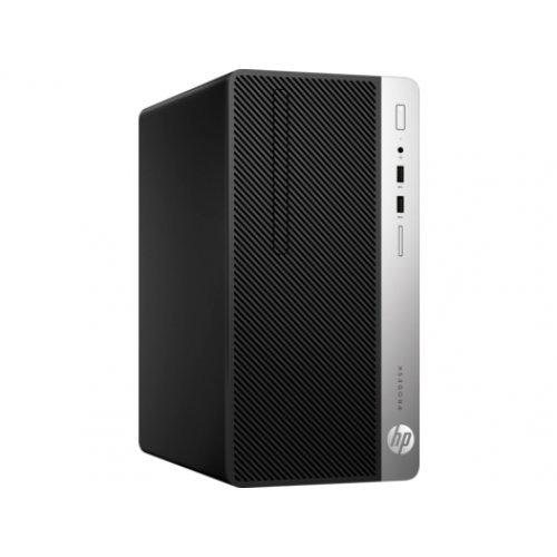 Настолен компютър HP HP ProDesk 400 G5 Microtower PC, 5ZS29EA, CPU Intel i3-8100, RAM 8GB, SSD 256GB (снимка 1)