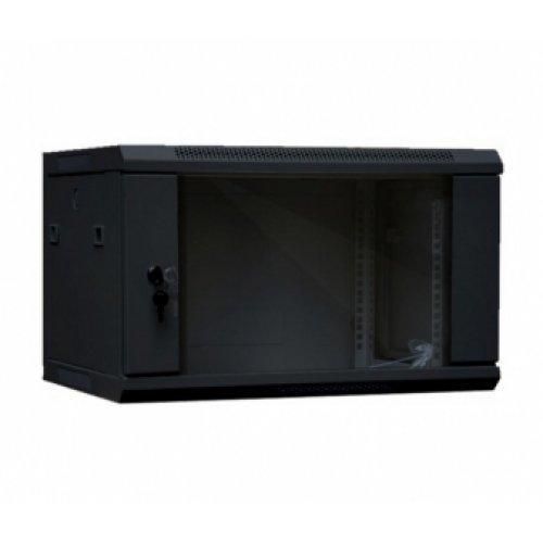 Комуникационен шкаф Шкаф SeaMAX WM, 6U*600*600, за стенен монтаж, черен (снимка 1)