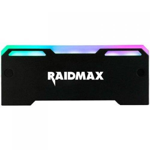 Въздушно охлаждане на процесор RAIDMAX MX-902F GPU RGB FAN 127x8x51mm 3pin/Voltage 5V Black (снимка 1)