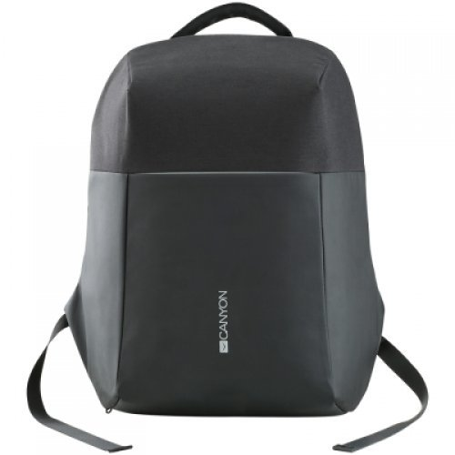 "Чанта за лаптоп Canyon Anti-theft backpack for 15.6""-17"" laptop, material 900D glued polyester and 600D polyester, black, USB cable length0.6M, 400x210x480mm, 1kg,capacity 20L (снимка 1)"