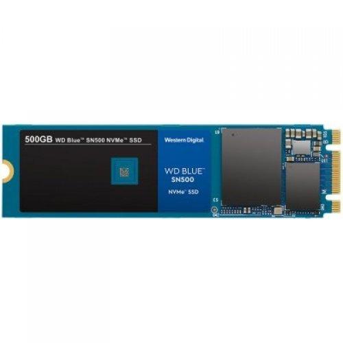 SSD SSD WD Blue (M.2 NVMe, 500GB, PCIe Gen3 8 Gb/s) (снимка 1)