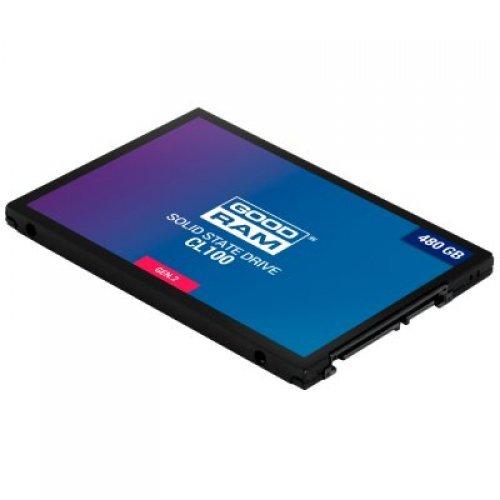 """SSD GOODRAM CL100 GEN. 2, 480GB, 2.5"""" 7mm, SATA (снимка 1)"""