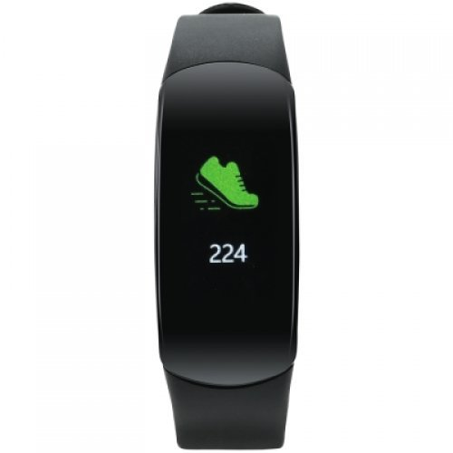 Ръчен часовник Canyon Smart band, colorful 0.96inch TFT, IP68 waterproof, heart rate monitor, 90mAh, multisport mode, compatibility with iOS and android, Black, host: 46*20*13.5mm, strap: 240*15mm, 24g (снимка 1)
