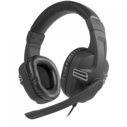 Слушалки Speedlink VERSICO Stereo Gaming Headset, Ultra-sensitive microphone with fold-away arm, Earcup remote with microphone mute and volume control, Cable: 2m, black-grey (снимка 1)