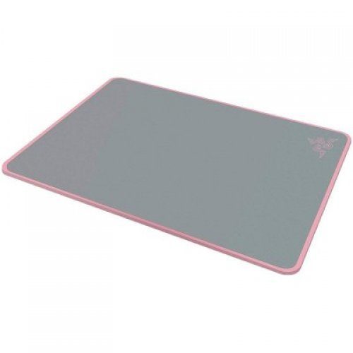 Razer Invicta Quartz Ed. - Pink Dual surface hard mouse mat, SPEED surface for fast mouse movements, CONTROL surface for precise mouse movements, Optimized surface coating for highly-responsive mouse tracking, Robust aluminum baseplate (снимка 1)