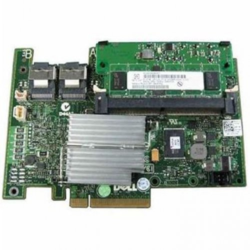 I/O модул DELL PERC POWER EDGE RAID CONTROLLER H730/ SATA 6Gb/s / SAS 12Gb/s, 1GB CACHE, R SERIES ONLY, OEM (снимка 1)