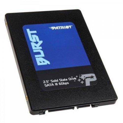 "SSD Patriot Burst 480GB, 2.5"" SATA3, PBU480GS25SSDR (снимка 1)"