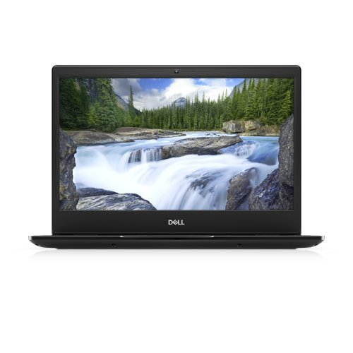 "Лаптоп Dell Latitude 14 3400, черен, 14.0"" (35.56см.) 1920x1080 (Full HD) без отблясъци, Процесор Intel Core i5-8265U (4x/8x), Видео Intel UHD 620, 8GB DDR4 RAM, 256GB SSD диск, без опт. у-во, Windows 10 Pro 64 English ОС, Клавиатура- светеща (снимка 1)"