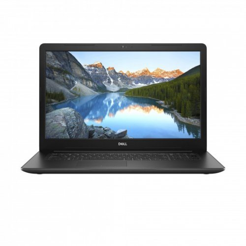 "Лаптоп Dell Inspiron 17 3780, черен, 17.3"" (43.94см.) 1920x1080 (Full HD) матов WVA, Процесор Intel Core i7-8565U (4x/8x), Видео AMD Radeon 520/ 2GB GDDR5, 8GB DDR4 RAM, 1TB HDD + 128GB SSD диск, без опт. у-во, Linux Ubuntu ОС, Клавиатура- с БДС (снимка 1)"