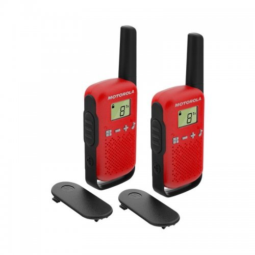 Радиостанции  Motorola Talkabout T42 PMR - червени (снимка 1)