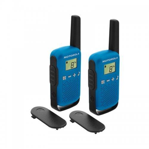 Радиостанции Motorola Talkabout T42 PMR - сини (снимка 1)