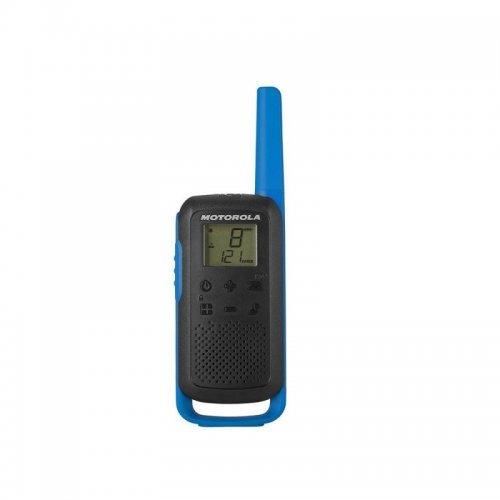 Радиостанции Motorola Talkabout T62 PMR - сини (снимка 1)
