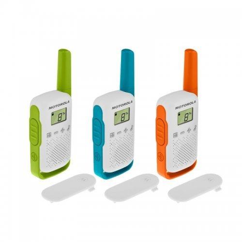 Радиостанции Motorola Talkabout T42 PMR - 3 бр (снимка 1)