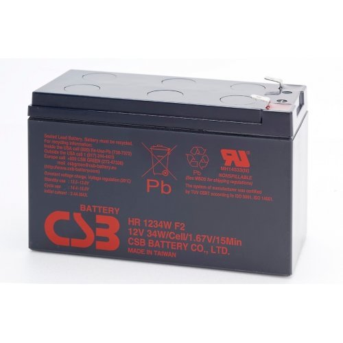 Батерия за UPS CSB 12V 9Ah, HR1234WF2 Battery (снимка 1)