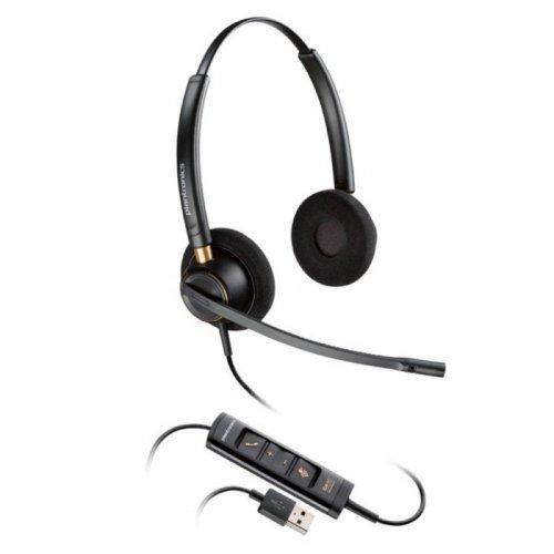 Колцентър слушалка PLANTRONICS HW525 USB Слушалка с микрофон (снимка 1)