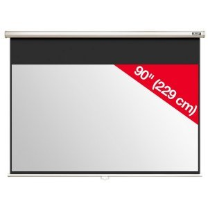 """Acer M90-W01MG Projection Screen 90"""" (16:9) Wall & Ceiling Gray Manual (снимка 1)"""