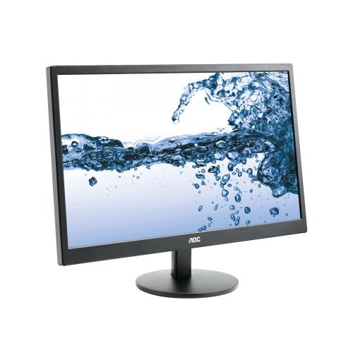 "Монитор AOC 21.5"" E2270SWN, WLED TN, 1920x1080, 16:9, Матово, 200 cd/m2, 20 000 000:1, 5 ms, 90°/65° @ 10:1, 1xD-Sub, Black (снимка 1)"