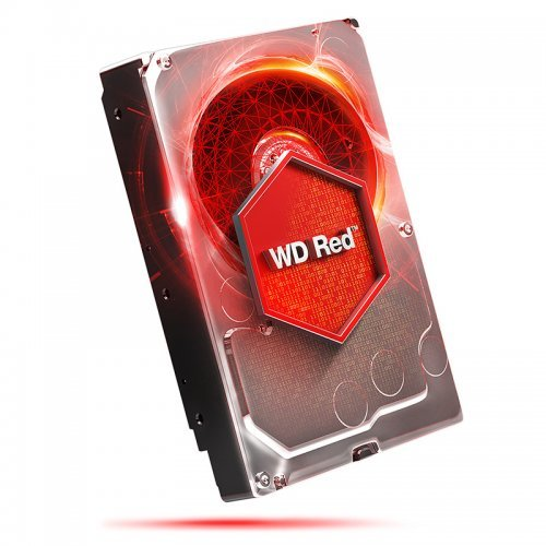 Western Digital 4TB, Red WD40EFRX, SATA3, 64MB, IntelliPower (снимка 1)