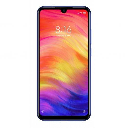 "Смартфон Xiaomi Redmi Note 7 M1901F7G, 3/32GB, 6.3"" FullHD(2340 x 1080), Nuptun Blue, Li-Po 4000 mAh (снимка 1)"