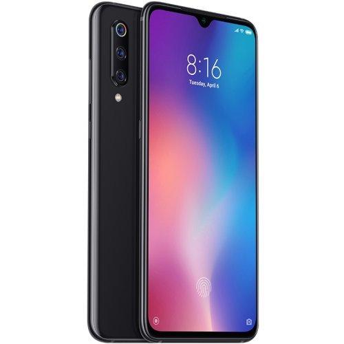 "Смартфон Xiaomi MI 9 M1902FIG, 6/128GB, 6.39"" (1080 x 2340), CPU Qualcomm Snapdragon 855, Piano Black (снимка 1)"