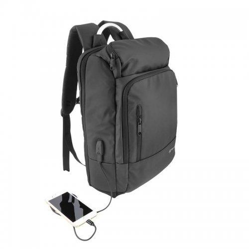 """Чанта за лаптоп Tellur Business L 17.3"""" с USB порт - черна (снимка 1)"""