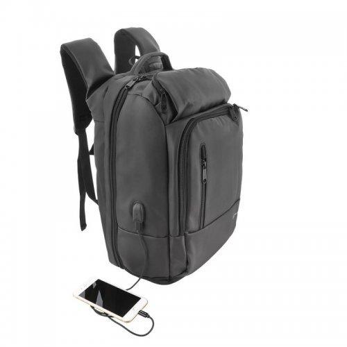 """Чанта за лаптоп Tellur Business XL 17.3"""" с USB порт - черна (снимка 1)"""