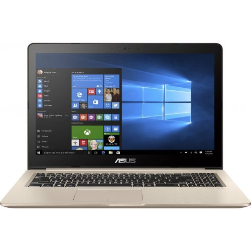"Лаптоп Asus VivoBook Pro 15 N580GD-E4555, златист, 15.6"" (39.62см.) 1920x1080 (Full HD) без отблясъци, Процесор Intel Core i7-8750H (6x/12x), Видео nVidia GeForce GTX 1050/ 4GB GDDR5, 8GB DDR4 RAM, 512GB SSD диск, без опт. у-во, Endless Linux ОС (снимка 1)"