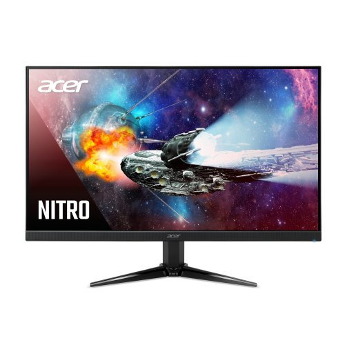 "Монитор Acer Nitro QG221Qbii, 21.5"" VA LED,1920x1080 75Hz, VGA, 2xHDMI, Speakers, Black (снимка 1)"