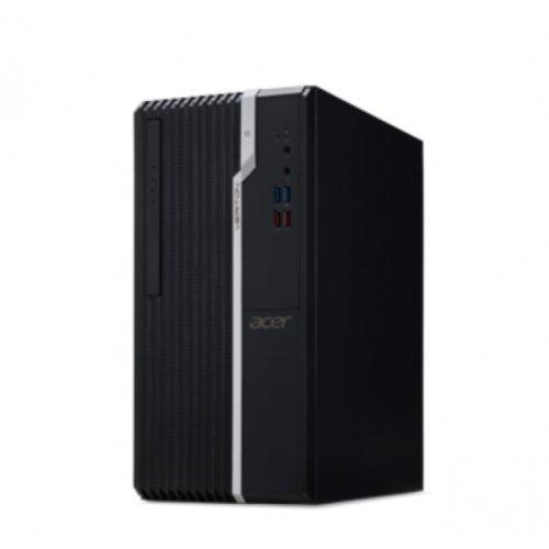 Настолен компютри Acer Acer Veriton S2660G, Intel Core i7-8700 (up to 4.60GHz, 12MB), 8GB DDR4 2666MHz, 256GB SSD & 1TB HDD, DVD+RW, Intel UHD Graphics, Kbd & Mouse (снимка 1)