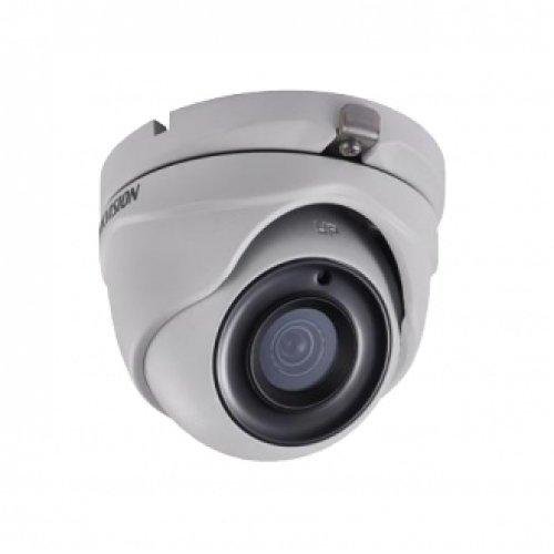 Hikvision DS-2CE56D8T-ITM, HD-TVI куполна Ultra-Low Light камера 2MP (FullHD 1080p@25 кад/сек); 2MP Progressive Scan CMOS сензор; 0.005 Lux@F2.0 (0 Lux IR on); 2.8 мм; външен монтаж (IP67) (снимка 1)