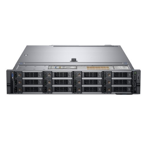 "Сървър Dell PowerEdge R540, Intel Xeon Silver 4114 (2.2G, 10C/20T, 14M), 16GB 2666 RDIMM, 240GB SSD, PERC H730P, iDRAC9 Enterprise, Redundant PS (1+1), 750W, Chassis 12 x 3.5"" Hot Plug, 3Y Basic NBD (снимка 1)"