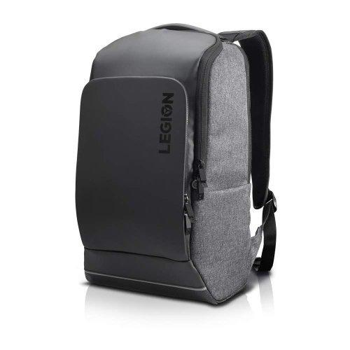 "Чанта за лаптоп Lenovo Legion 15.6"" Recon Gaming, water-repellent Backpack, Grey (снимка 1)"