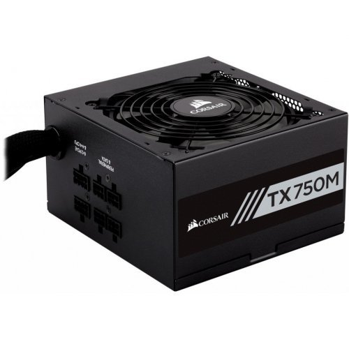Захранващ блок Corsair Enthusiast Series TX750 Power Supply, Modular 80 Plus Gold 750 Watt (снимка 1)