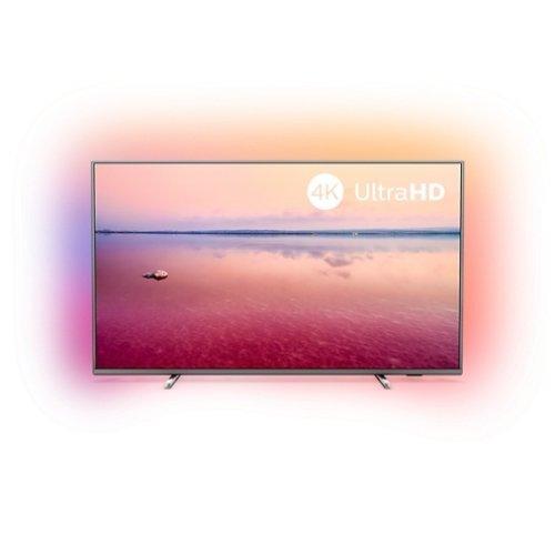 """Телевизор Philips 43"""" 4K Ultra HD, Smart TV, Saphi, Ambilight 3-sided, DVB-T/T2/T2-HD/C/S/S2 , Индекс на качеството на образа 1200, HDR 10+, Pixel Precise Ultra HD, Dolby Vision and Dolby Atmos (снимка 1)"""