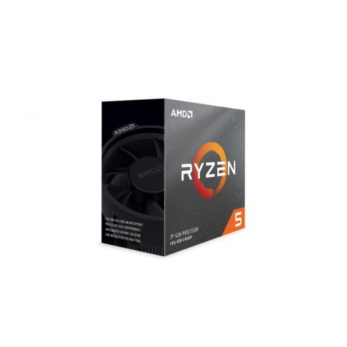 Процесор AMD Ryzen 5 3600X, 6C/12T, s.AM4, 3.8GHz (4.4GHz with Boost), 35MB, 95W, With Cooler, No VGA, Box (снимка 1)