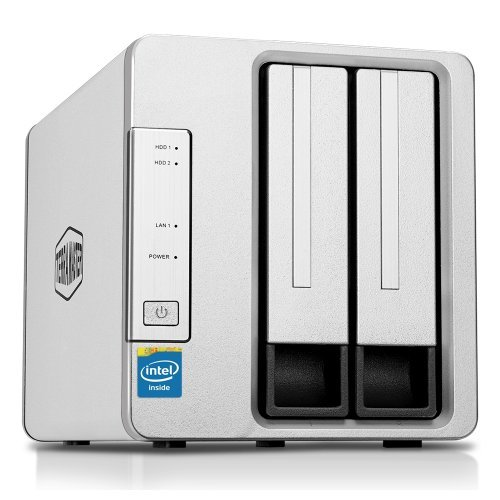 NAS устройство TerraMaster F2-220 NAS server 2 bay Dual Core CPU (снимка 1)