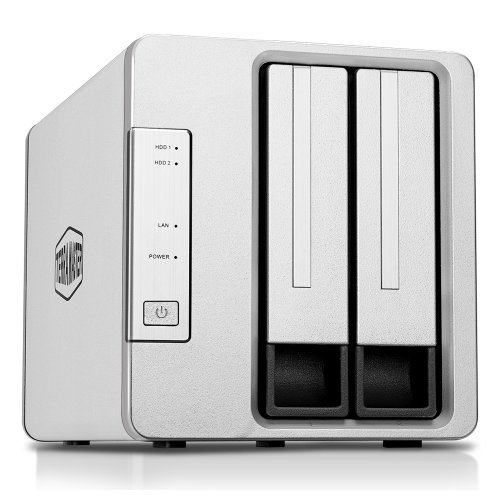 NAS устройство TerraMaster F2-210 NAS server 2 bay Quad Core CPU (снимка 1)