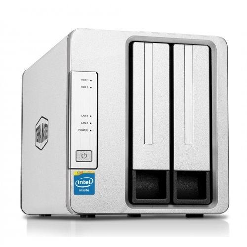 NAS устройство TerraMaster Комплект NAS Server F2-420 с 2 дискa Seagate NAS 2TB (снимка 1)
