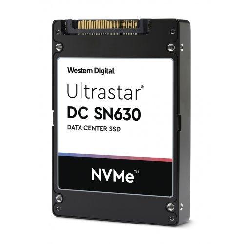 "SSD WD 1920GB Ultrastar DC SN630 PCIe Gen 3.1 x4 NVMe DATA CENTER SSD (Compliant to NVMe 1.3), WDC BiCS3 3D TLC, U.2 2.5"" (снимка 1)"