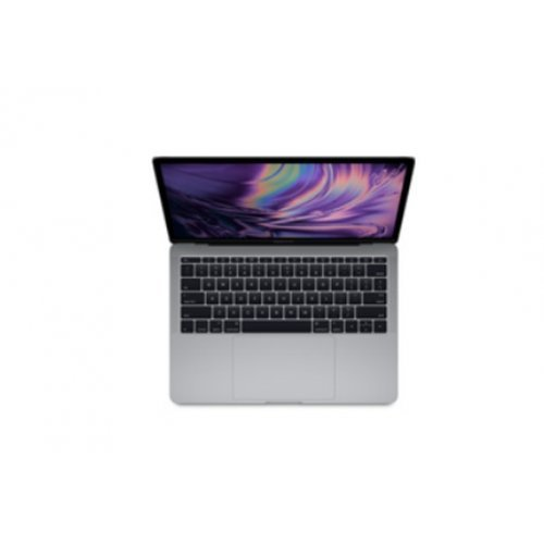 "Лаптоп Apple MacBook Pro 13, сив, 13.3"" (33.78см.) 2560x1600 (WQXGA) IPS, Процесор Intel Core i5-8279U (4x/8x), Видео Intel Iris Plus Graphics 655, 8GB LPDDR3 RAM, 512GB SSD диск, без опт. у-во, MacOS X Sierra ОС, Клавиатура- светеща (снимка 1)"