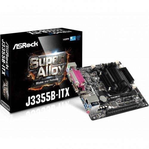 Дънна платка ASROCK J3355B, Intel Dual-Core Processor J3355 + Mini-ITX (снимка 1)