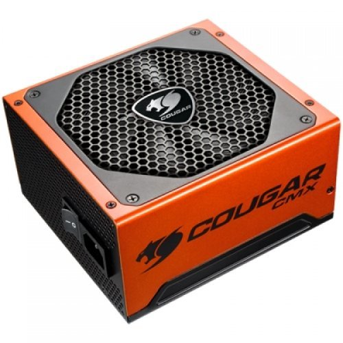 Захранващ блок COUGAR CMX 850, 80 Plus Bronze, Ultra-Quiet & Temperature-Controlled 140mm fan, Advanced Modular Cable, Support PCI Express 2.0 next-generation graphic card with 8(6+2)pin PCI-E connector, 105 °C Japanese Capacitors (снимка 1)