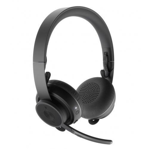 Слушалки Logitech Zone Wireless Bluetooth headset - GRAPHITE (снимка 1)