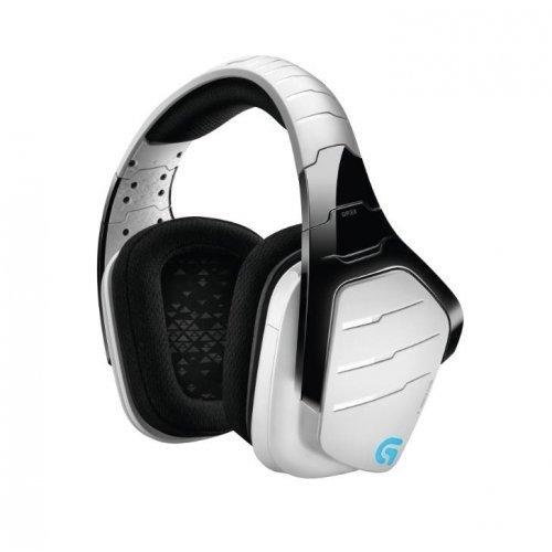 Слушалки Logitech G933 Artemis Spectrum Wireless 7.1 Surround Gaming Headset White (снимка 1)