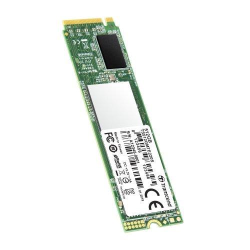 SSD Transcend 512GB, M.2 2280, PCIe Gen3x4, M-Key, 3D TLC, with Dram (снимка 1)
